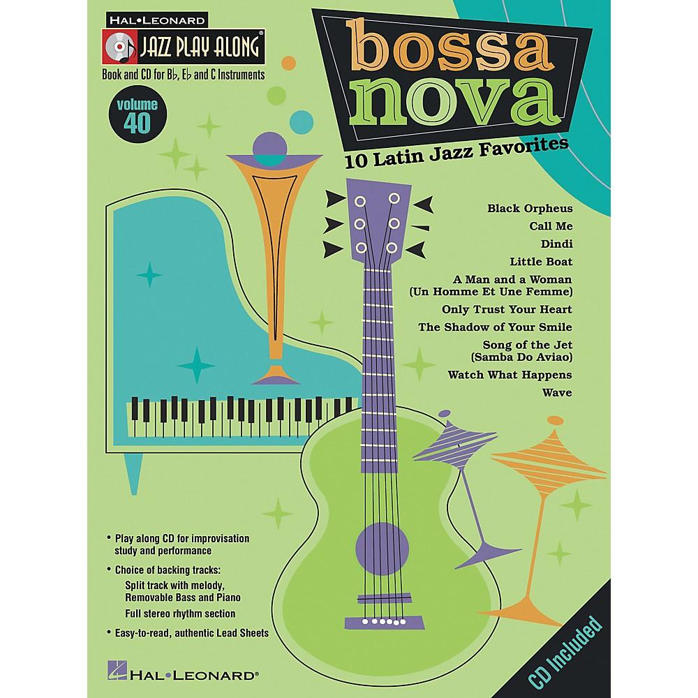 Hal Leonard Jazz Play Along Series, Volume 40: Bossa Nova - 10 Latin Jazz Favorites (Book/CD)