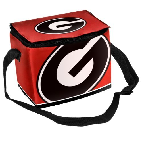 Georgia Bulldogs Insulated Lunch Bag - Red