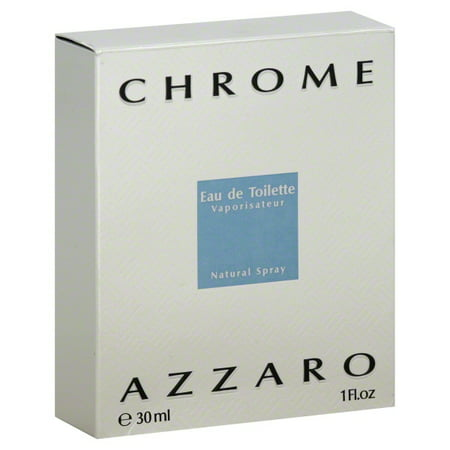 Chrome Natural (Azzaro Azzaro Chrome Eau de Toilette Natural Spray, 1 oz )