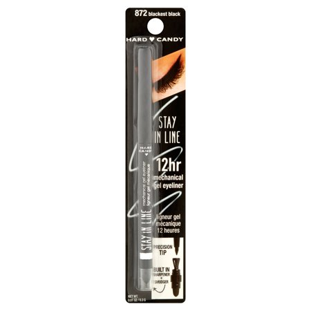 Hard Candy Stay in Line Eyeliner, Blackest (Hard Eye)