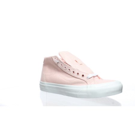Vans Womens Court Mid Pink Fashion Sneaker Size 5.5