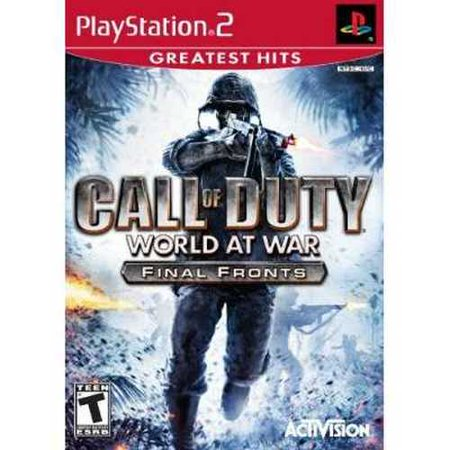 Call Of Duty  World At War  Ps2