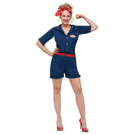 Rosie the Riveter Adult Costume for $<!---->