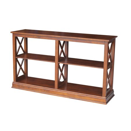 International Concepts Hampton Sofa Server Table With Shelves