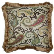Landry Square Decorative 20-inch Throw Pillow