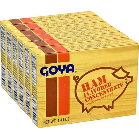 Goya Ham Flavored Seasoning 1.41 oz Sabor a Jamon (Pack of 6)