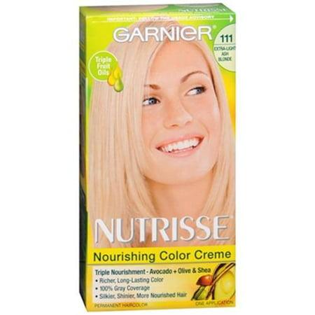 Garnier Nutrisse Haircolor 111 White Chocolate Extra Light Ash Blonde 1 Each