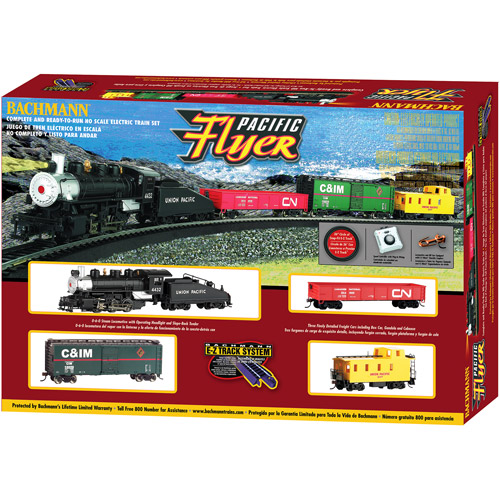 Bachmann HO Pacific Flyer Electric Train Set