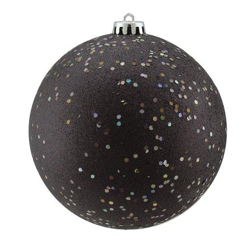 Northlight Seasonal Shatterproof Holographic Glitter Christmas Ball Ornament