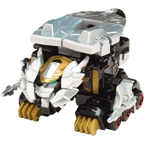 Power Rangers Lion Mechazord Vehicle and Robo Knight Action Figure Play Set by Bandai