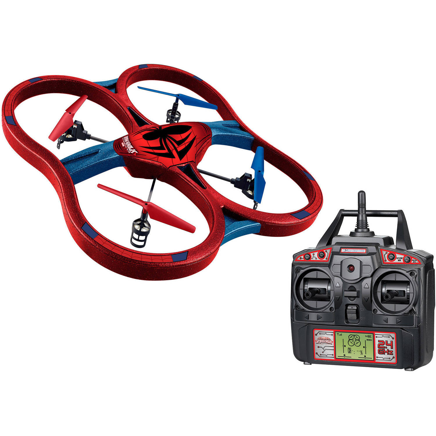 Marvel Spider-Man Super Drone 2.4GHz 4.5-Channel RC Drone