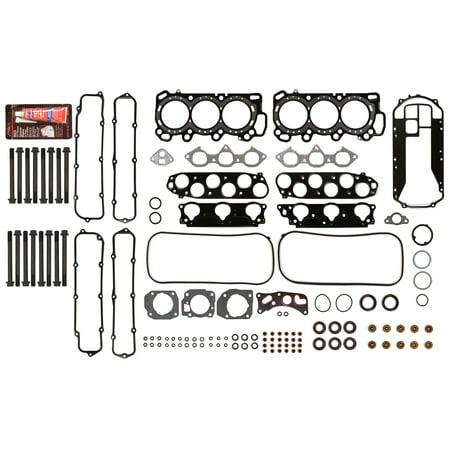 Evergreen HSHB4036 Head Gasket Set Head Bolts Fit 00-04 Acura TL CL MDX VTec 3.2 3.5 J32A1 J32A2 J35A3