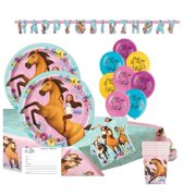 Spirit Horse Birthday Party Supplies with Banner