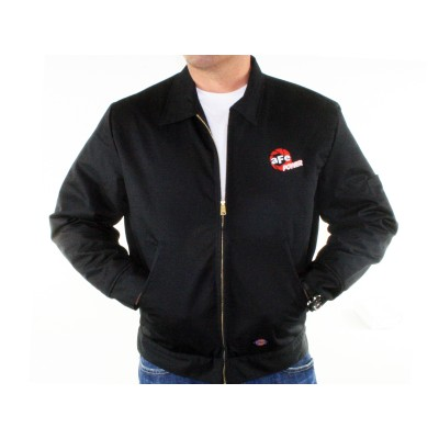 Image of embroidered Dickies Jacket, Black (3XL)