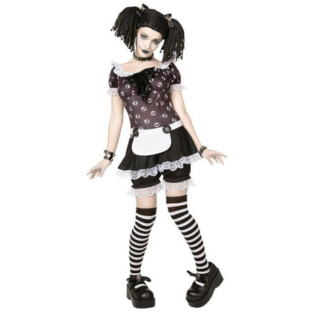 Plus Size Gothic Rag Doll Costume for $<!---->