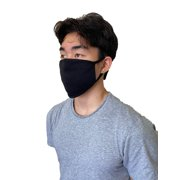 3 pcs/pack Organic Cotton Made In USA Unisex Face Masks Double Layer Reusable Washable