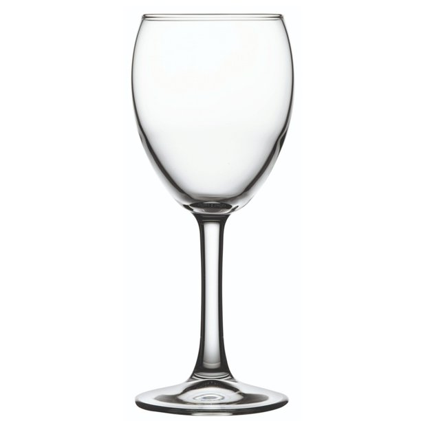 Cascata 8 Oz White Wine Glass All Purpose 2 3 4 X 2 3 4 X 7 6 Count Box Walmart Com Walmart Com