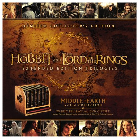 Middle-Earth Limited Collector's Edition: The Hobbit and The Lord Of The Rings Extended Edition Trilogies (Blu-ray + Digital HD With UltraViolet) (Widescreen) - Weapons From Lord Of The Rings