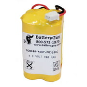 BatteryGuy replacement for the Emergency Lighting Exit Light Co LEDGBB battery (Rechargeable)