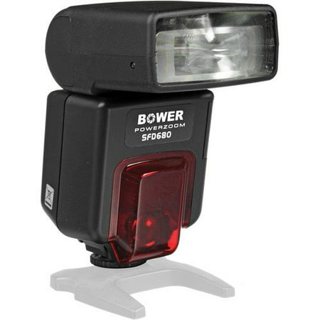 Bower Digital Autofocus Power Zoom Flash for Nikon D2X/200/3X/40X/50/60/70/80/90/5000/5100/700/7000, Digital SLR Cameras (SFD680N)