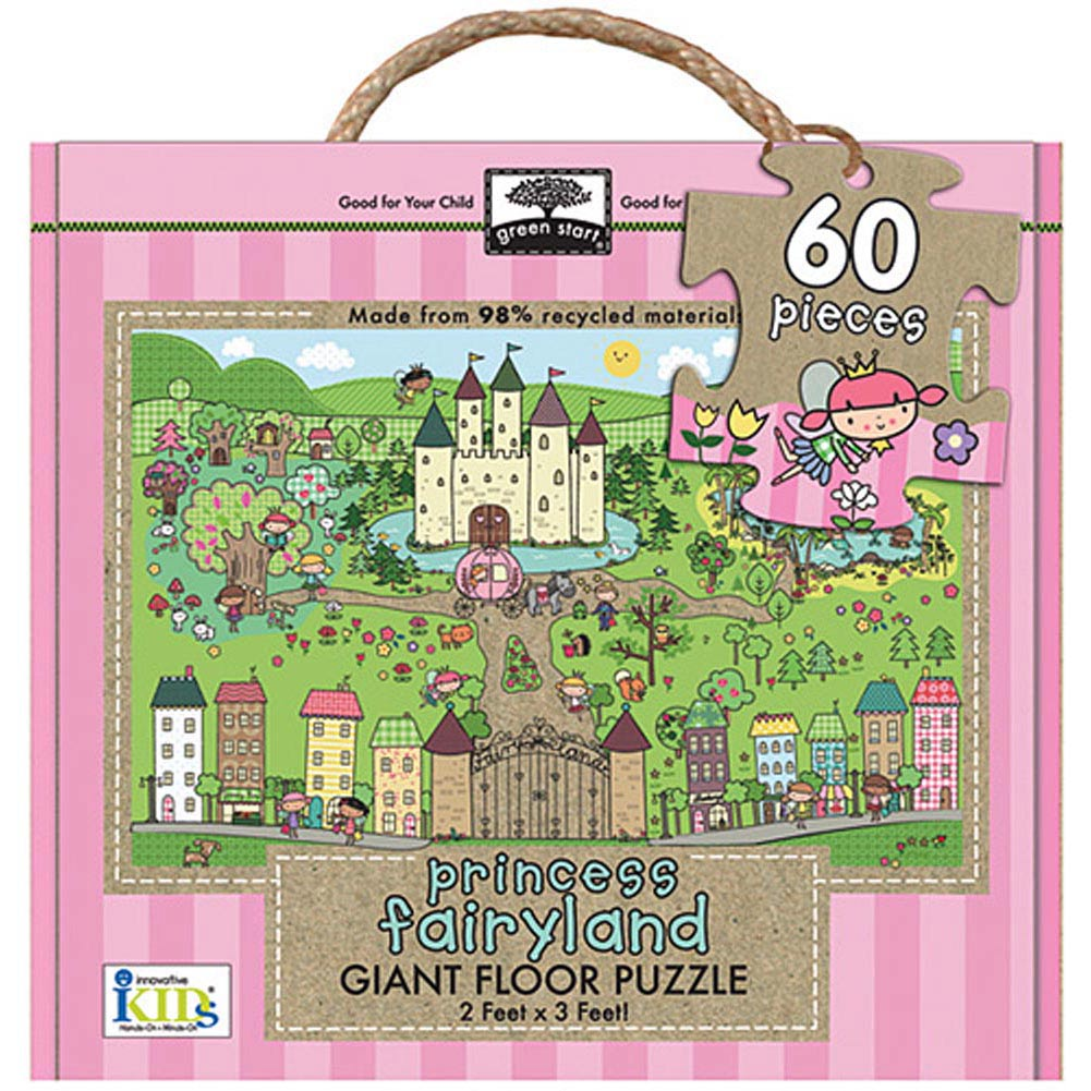 Princess Fairyland 60 Piece Floor Puzzle,  Kids Puzzles by Innovative Kids