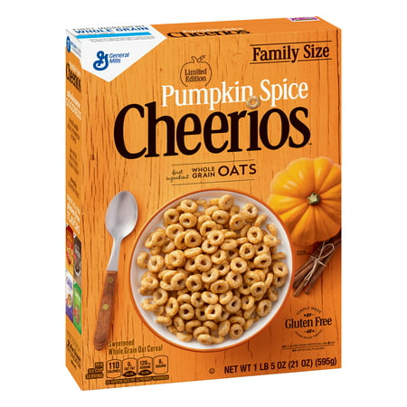 (General Mills Pumpkin Spice Cheerios Family Size)
