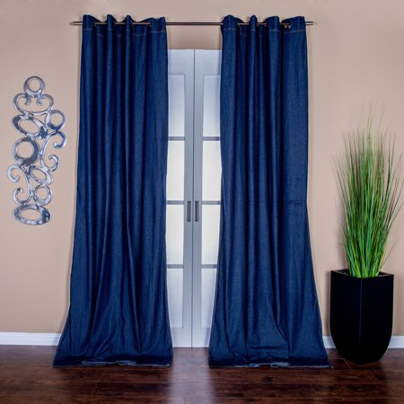 Grommet Top 96 Inch Curtain Panel Pair