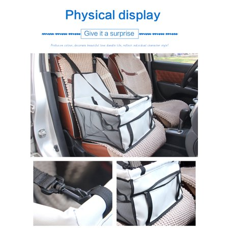 Waterproof Bag Pet Car Carrier-Carrier for Dogs Breathable Car Bag for Dog Safe Waterproof Travel Carrier for Pet - image 5 de 7
