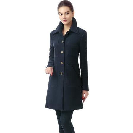 - Women's 'Elizabeth' Wool Blend Walking Coat