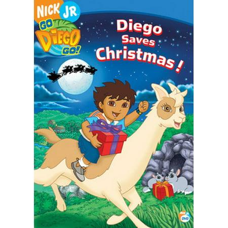 Go Diego Go: Diego Saves Christmas (DVD)](Save Mart Christmas Hours)