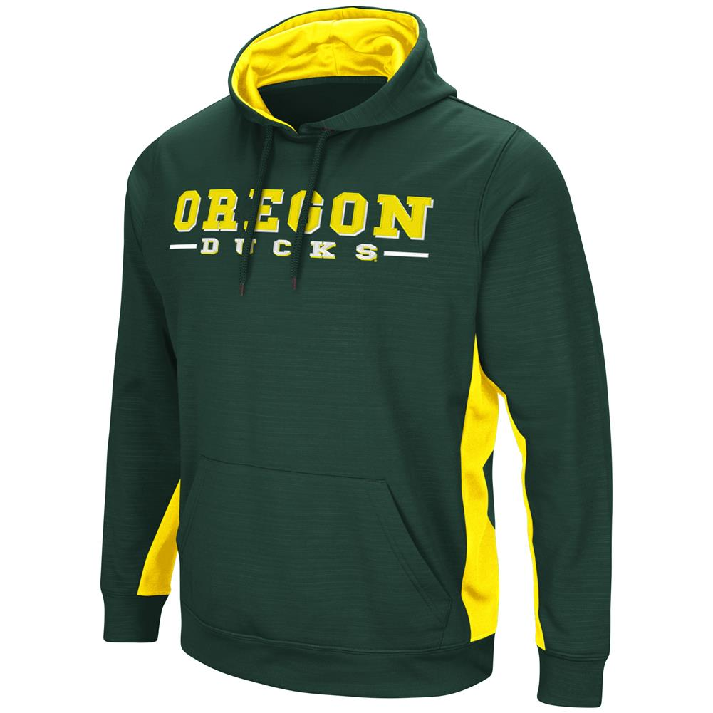 University of Oregon Ducks Hoodie Performance Fleece Pullover Jacket