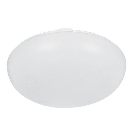 Luminance Mushroom 2-light White Fluorescent Flush Mount
