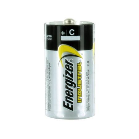 Energizer Industrial C Alkaline Batteries - 4 Pack + 30% Off!