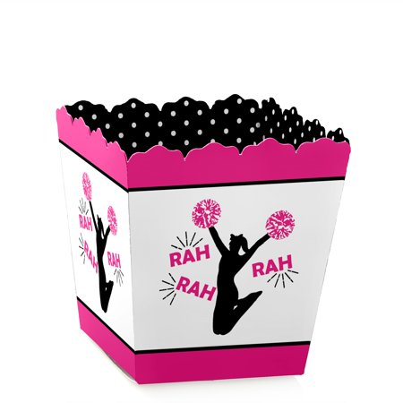 We've Got Spirit - Cheerleading - Party Mini Favor Boxes - Cheerleader or Birthday Party Treat Candy Boxes - Set of 12