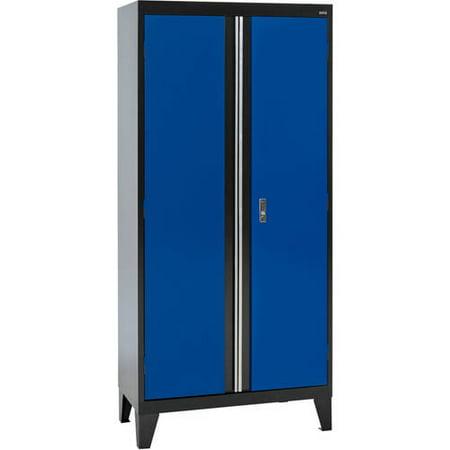 "36""W x 18""D x 79""H Modular Storage System Combination Storage Cabinet"