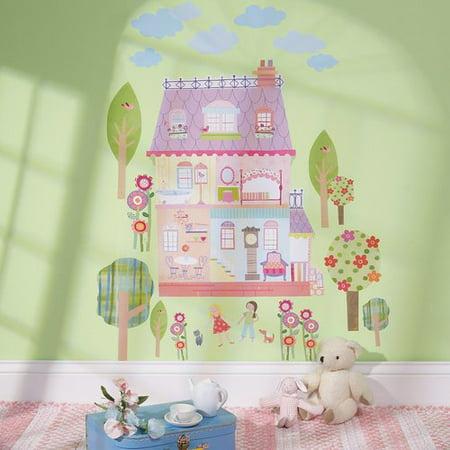 Wallies Peel & Stick Play House, 2 sheets 19