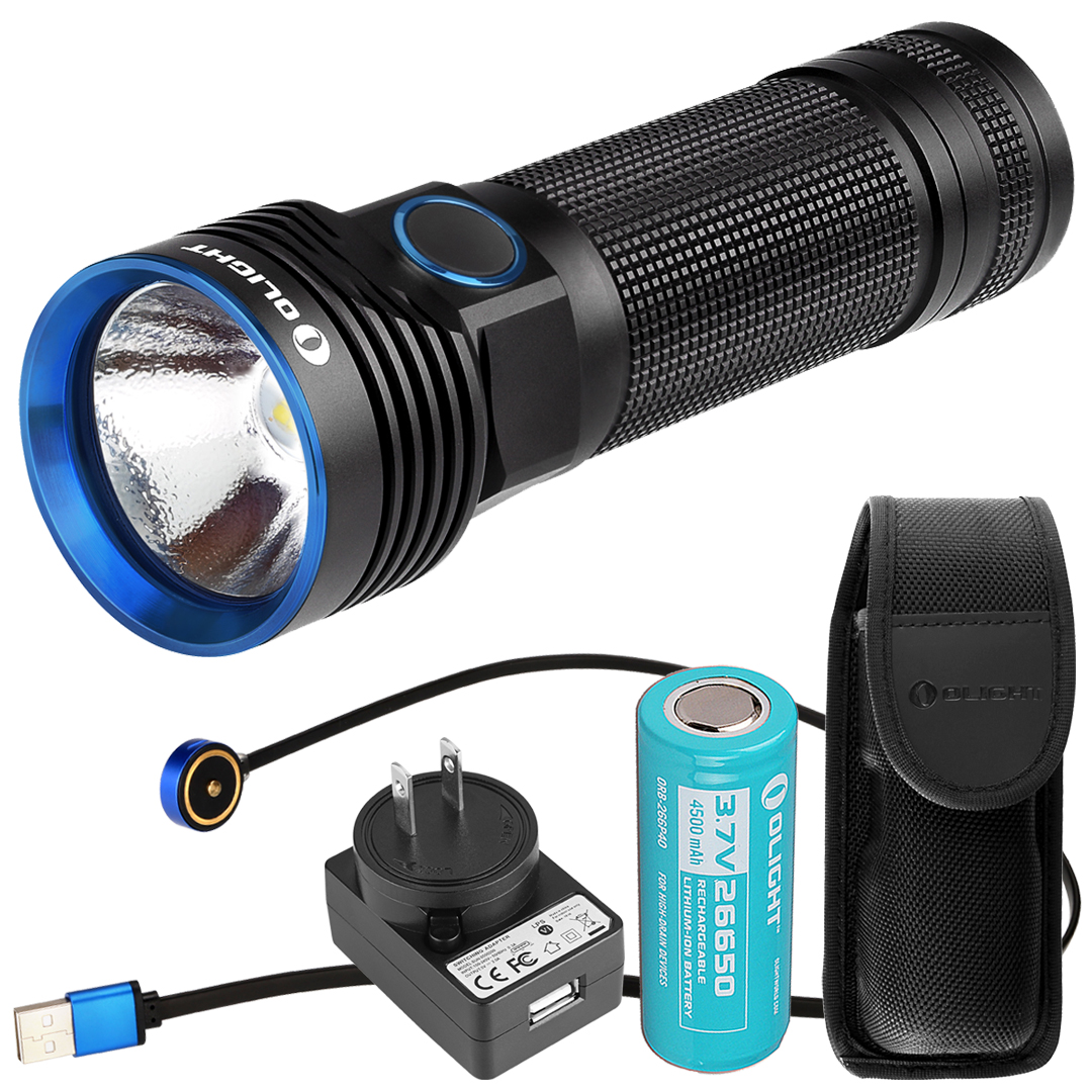 Olight R50 PRO Seeker 3200 Lumen CREE XHP70 Rechargeable LED Flashlight