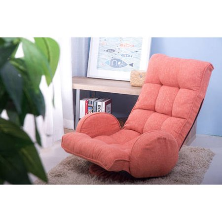 993147dfca10 Merax Adjustable Fabric Folding Chaise Lounge Sofa Chair Floor Couch Lazy  Sofa - Walmart.com
