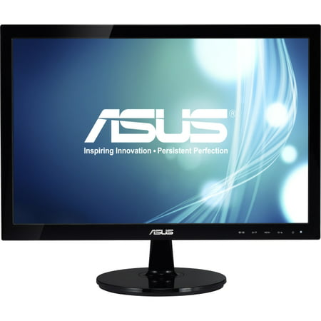 Asus Vs197d P 18 5   Led Lcd Monitor   16 9   5 Ms   Adjustable Display Angle   1366 X 768   16 7 Million Colors   250 Nit   50 000 000 1   Wxga   Vga   21 W   Black   Energy Star  Rohs  Weee  Epeat Si