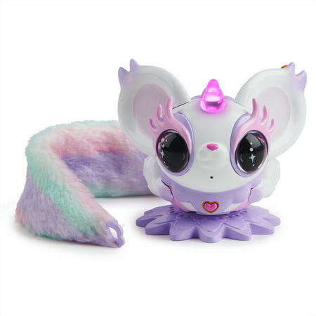 Pixie Belles - Esme (White) - Interactive Electronic Pet with Bonus Tail