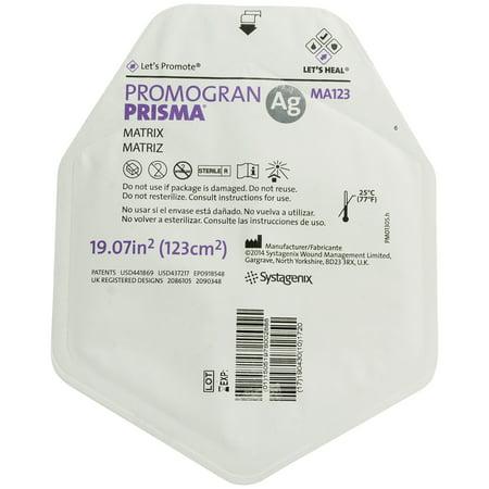 Systagenix MA123 Promogran Prisma Matrix Collagen Wound Dressing 19.07 Sq. In - 1 (Collagen Wound Dressing)