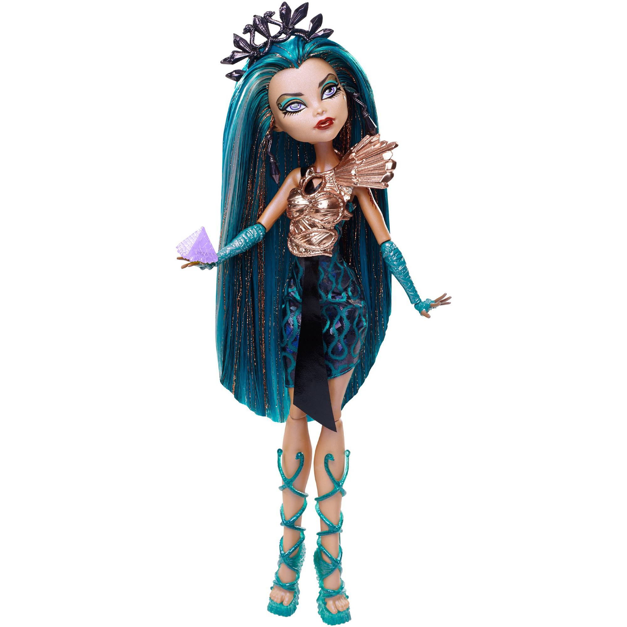 Monster High Boo York, Boo York City Schemes Nefera De Nile Doll by Mattel