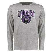 Central Arkansas Bears Big & Tall Classic Primary Long Sleeve T-Shirt - Ash