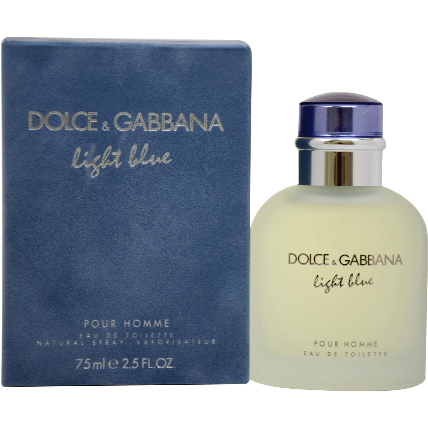 Dolce & Gabbana Light Blue Pour Homme Eau de Toilette Spray, 2.5 fl oz