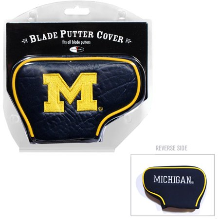 Team Golf NCAA Michigan Golf Blade Putter Cover (Ncaa Putter Cover Blade)