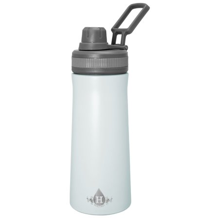 HERITAGE 34oz Double Wall Stainless Steel Vacuum Bottle With Twist Cap Lid