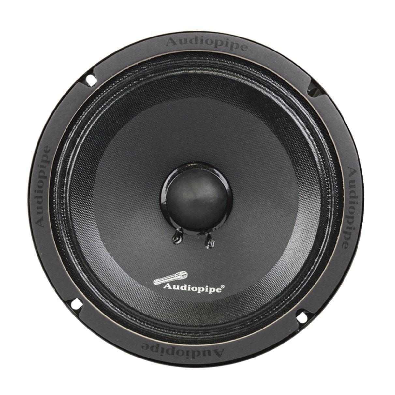 Audiopipe APMB-8SB-C 8 Inch 250 Watt Low Mid Frequency Midwoofer Car Loudspeaker