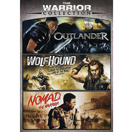 The Warrior Triple Feature: Outlander / Wolfhound / Nomad The Warrior (Widescreen)