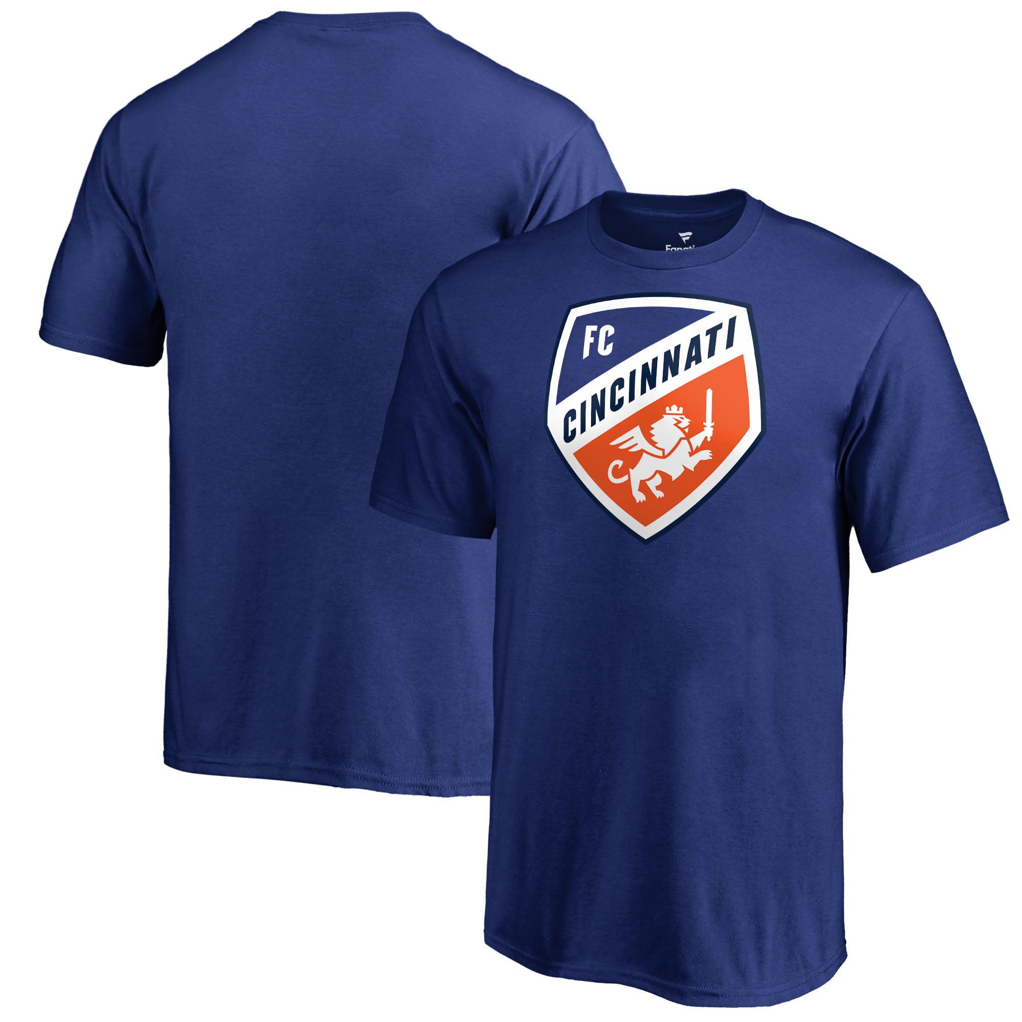 FC Cincinnati Fanatics Branded Youth Primary Logo T-Shirt - Royal