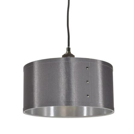 Dainolite 1 Light Drum Shade Pendant -